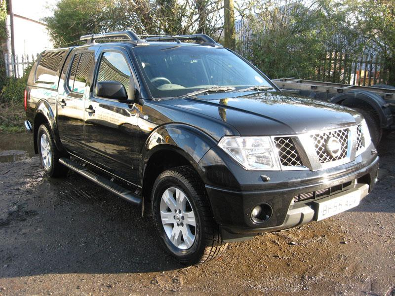 BF55 Nissan Navara Outlaw. 4x4 Double Cab Pick-up