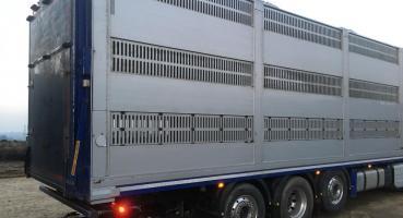 Houghton Parkhouse 28' Platinum 3 Deck Livestock Transporter